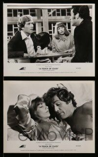 6m661 TOUCH OF CLASS 14 8x10 stills '73 great images of George Segal & Glenda Jackson!