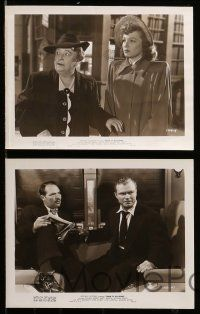 6m647 TRAIN TO ALCATRAZ 15 8x10 stills '48 Don Red Barry, Jane Darwell, Barcroft, famous prison!