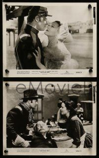 6m752 TWO FLAGS WEST 9 8x10 stills '50 Joseph Cotten, Linda Darnell & Cornel Wilde, Civil War!