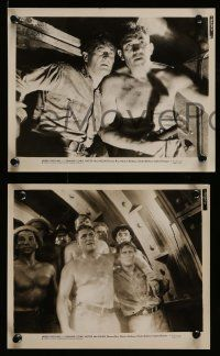 6m917 UNDER PRESSURE 4 8x10 stills '35 Victor McLaglen with Edmund Lowe, East River!
