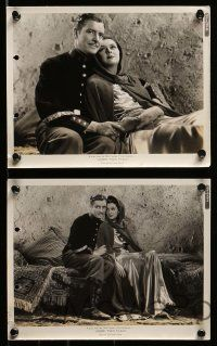 6m882 UNDER TWO FLAGS 5 8x10 stills '36 Legionnaire Ronald Colman & Claudette Colbert!