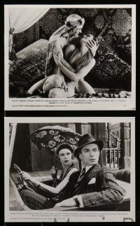 6m619 VALENTINO 17 8x10 stills '77 Rudolph Nureyev as the silent star, Michelle Phillips!