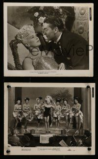 6m883 WABASH AVENUE 5 8x10 stills '50 all with sexy Betty Grable + dancers!
