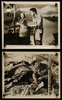 6m612 WALKING HILLS 19 8x10 stills '49 Randolph Scott, Ella Raines, directed by John Sturges!