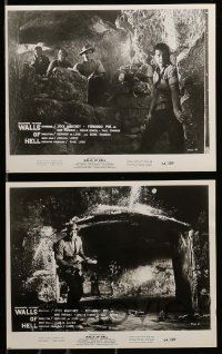 6m782 WALLS OF HELL 8 8x10 stills '64 Intramuros, jungles of Southeast Asia!