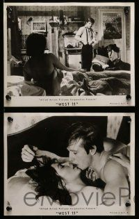 6m627 WEST 11 16 8x10 stills '63 Alfred Lynch, sexiest Kathleen Breck!