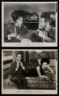6m663 WHAT A WAY TO GO 14 8x10 stills '64 Shirley MacLaine, Robert Mitchum, Dean Martin, Van Dyke!