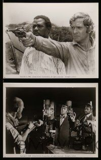 6m597 WILBY CONSPIRACY 29 8x10 stills '75 Sidney Poitier, Michael Caine, Nicol Williamson