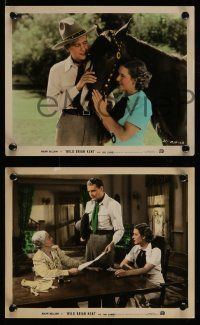 6m500 WILD BRIAN KENT 4 color 8x10 stills '36 Mae Clarke on all & she signed the back of each!