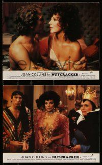 6m580 NUTCRACKER 4 color English FOH LCs '82 Joan Collins English sex thriller, Carol White!