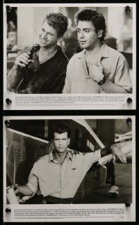 6m059 AIR AMERICA presskit w/ 15 stills '90 Mel Gibson & Robert Downey Jr. are flying for the CIA!