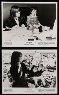 6m237 BABY BOOM presskit w/ 9 stills '87 Diane Keaton wants nothing to do with adorable baby!