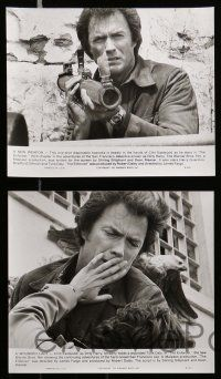 6m253 ENFORCER presskit w/ 9 stills '76 Clint Eastwood as Dirty Harry & partner Tyne Daly!