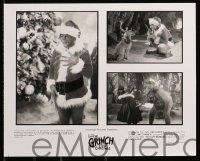 6m495 GRINCH presskit w/ 1 still '00 Jim Carrey, Ron Howard, Dr. Seuss' classic Christmas story!