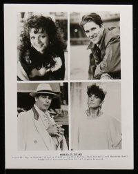 6m166 MARRIED TO THE MOB presskit w/ 11 stills '88 Michelle Pfeiffer, Modine, Dean Stockwell!