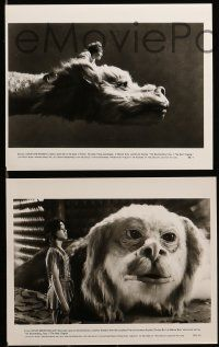 6m205 NEVERENDING STORY 2 presskit w/ 10 stills '91 George Miller sequel, an all new adventure!
