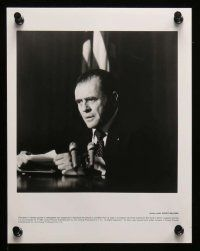 6m170 NIXON presskit w/ 11 stills '95 Anthony Hopkins as Richard Nixon, directed by Oliver Stone!