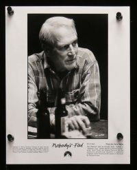 6m068 NOBODY'S FOOL presskit w/ 15 stills '94 great images of worn to perfection Paul Newman!