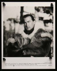 6m171 ON DEADLY GROUND presskit w/ 11 stills '94 star/director Steven Seagal, Caine, Joan Chen!