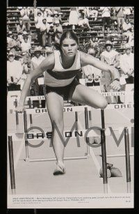 6m456 PERSONAL BEST presskit w/ 5 stills '82 great images of athletic determined Mariel Hemingway!