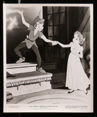 6m331 PETER PAN presskit w/ 8 stills R76 Walt Disney animated cartoon fantasy classic!