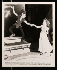6m422 PETER PAN presskit w/ 6 stills R82 Walt Disney animated cartoon fantasy classic!