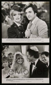 6m138 PRIVATE BENJAMIN presskit w/ 12 stills '81 Albert Brooks, Assante, Goldie Hawn in the army!