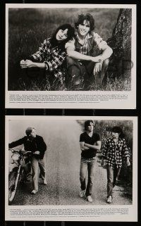 6m490 TEX presskit w/ 3 stills '82 young Matt Dillon, Meg Tilly & Emilio Estevez, S.E. Hinton!