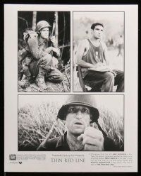 6m225 THIN RED LINE presskit w/ 10 stills '98 Sean Penn, Woody Harrelson & Caviezel in WWII!