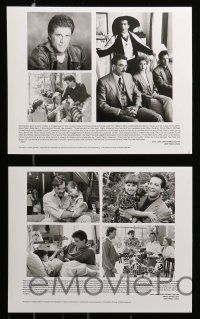 6m432 THREE MEN & A LITTLE LADY presskit w/ 6 stills '90 Tom Selleck, Steve Guttenberg, Ted Danson