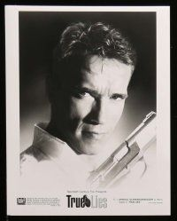 6m389 TRUE LIES presskit w/ 7 stills '94 Arnold Schwarzenegger, directed by James Cameron!