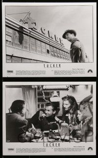 6m032 TUCKER: THE MAN & HIS DREAM presskit w/ 20 stills '88 Francis Ford Coppola, Jeff Bridges!
