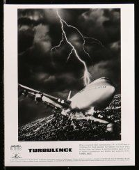 6m274 TURBULENCE presskit w/ 9 stills '97 Ray Liotta, Lauren Holly, airplane disaster thriller!