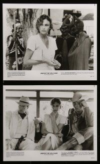 6m094 UNDER THE VOLCANO presskit w/ 14 stills '84 great images of Albert Finney, Jacqueline Bisset