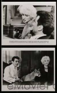 6m056 WHO'S THAT GIRL presskit w/ 16 stills '87 sexy young rebellious Madonna, Griffin Dunne!