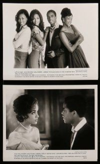 6m143 WHY DO FOOLS FALL IN LOVE presskit w/ 12 stills '98 Halle Berry, Vivica A. Fox, Larenz Tate!