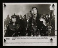 6m057 WILLOW presskit w/ 16 stills '88 George Lucas & Ron Howard, Val Kilmer & sexy Joanne Whalley