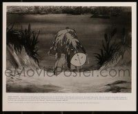6m499 WINNIE THE POOH & A DAY FOR EEYORE presskit w/ 1 still '83 Disney, great cartoon image!