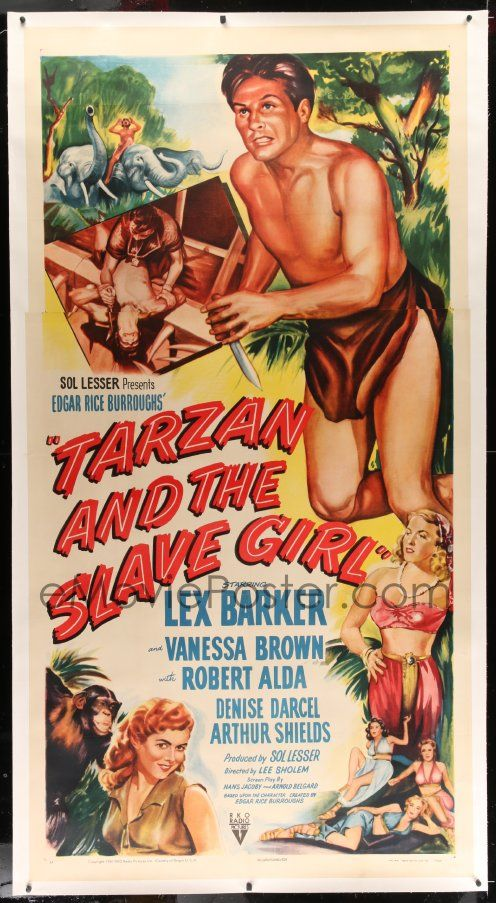 tarzan and the slave girl full movie
