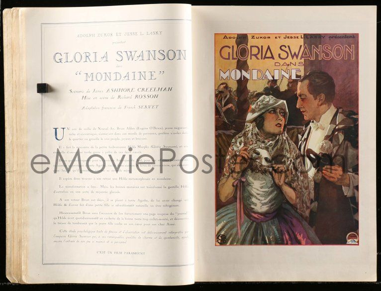 Emovieposter Com 6x001 Paramount 1927 28 French Campaign Book 27 Louise Brooks Clara Bow Much More Incredible
