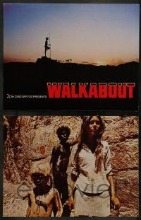 6z025 WALKABOUT 9 color from 10.5x14 to 11x14 stills '71 Jenny Agutter & Luc Roeg in the Outback!