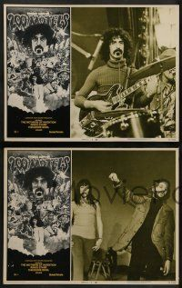 6z026 200 MOTELS 8 LCs '71 wild rock 'n' roll border artwork of Frank Zappa, Mothers of Invention!