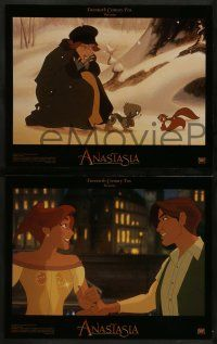 6z011 ANASTASIA 10 LCs '97 Don Bluth cartoon about the missing Russian princess!
