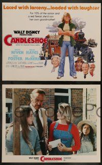 6z020 CANDLESHOE 9 LCs '77 Walt Disney, young Jodie Foster, she'd con her own grandma!