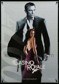 7b043 CASINO ROYALE teaser Swiss '06 Daniel Craig as James Bond & sexy Eva Green as Vesper Lynd!