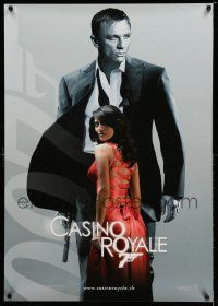7b045 CASINO ROYALE teaser Swiss '06 Daniel Craig as James Bond, sexy Caterina Murino as Solange!