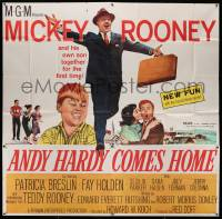 7f005 ANDY HARDY COMES HOME 6sh '58 Mickey Rooney & son Teddy together for the first time!