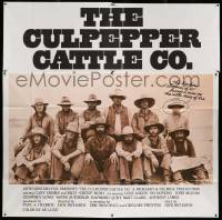 7f019 CULPEPPER CATTLE CO. int'l 6sh '72 Gary Grimes, Billy Bush, cool old-time cast portrait!