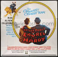 7f036 FURTHER PERILS OF LAUREL & HARDY 6sh '67 their funniest moments from the rip-roaring 1920s!