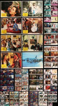 7h039 LOT OF 127 LOBBY CARDS '50s-90s complete & incomplete sets from a variety of movies!